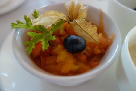 détail muesli troisième jour de ré alimentation jeûne Marbella