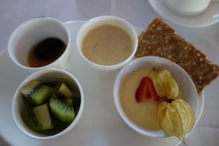 petit déjeuner quatrième jour de réalimentation jeûne Buchinger Marbella