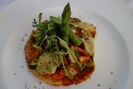 pizza végétarienne quatrième jour réalimentation jeûne Marbella