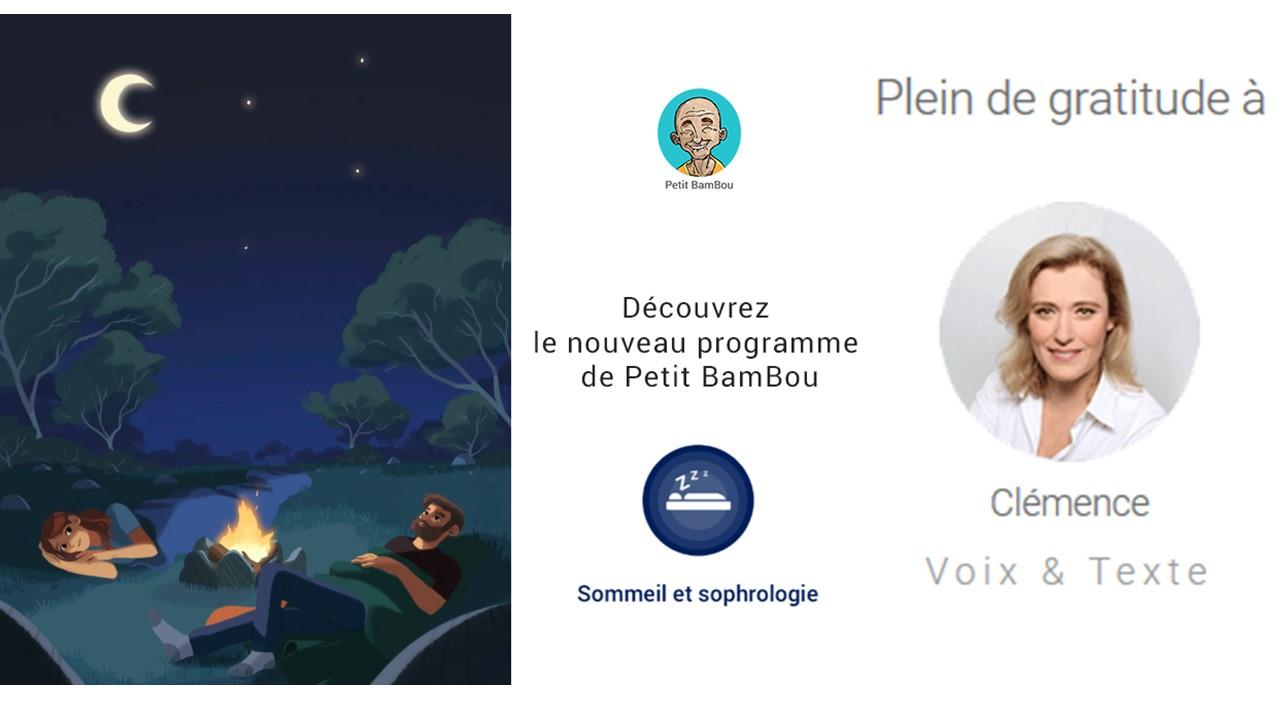 Sophrologie Sommeil programme Petit Bambou Clémence Peix Lavallée